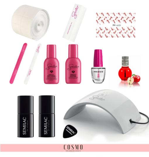 Zestaw-Startowy-Semilac-do-Manicure-Hybrydowego-nr-1-Lampa-LED-UV-24