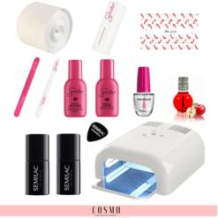 Zestaw-Startowy-Semilac-do-Manicure-Hybrydowego-nr-1-Lampa-LED-UV-36