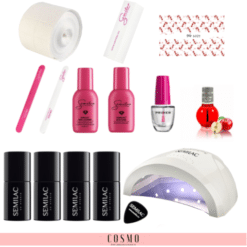 Zestaw-Startowy-Semilac-do-Manicure-Hybrydowego-nr-2-Lampa-LED-UV-24-48-