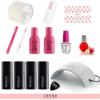 Zestaw-Startowy-Semilac-do-Manicure-Hybrydowego-nr-2-Lampa-LED-UV-24-510x535