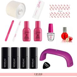 Semilac-Zestaw-Startowy-do-Manicure-Hybrydowego-nr-2-Lampa-LED-UV-9