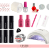 Zestaw-Startowy-Semilac-do-Manicure-Hybrydowego-nr-4-Lampa-LED-UV-24-48-473x400